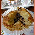 recette Muffins poire/chocolat
