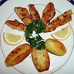 recette Filets de perches et ses pommmes de terre nouvelle