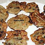 recette Beignets aux saucisses fumées et champignons