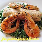 recette Boudins de thon, blettes et crevettes