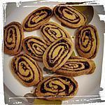 recette tourbillon sablé chocolat pistache