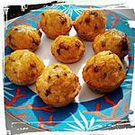 recette mini-muffins aux muesli et pépite chocolat nappés confiture d'abricot