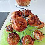 recette Muffins poireaux, ricotta, lardons et pommes de terre