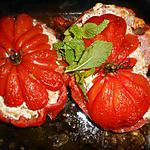 recette Tomates farcies au saumon