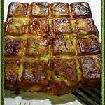 recette Gâteau invisible courgettes et chorizo