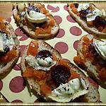 recette Tartines au Chorizo et Chèvre