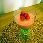 recette bavarois léger aux fraises
