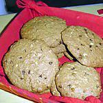 recette Cookies au muesli et pépites de chocolat