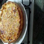 recette Tarte à la banane et mangue/porto