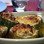 recette Courgette ronde farcie façon moussaka