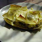 recette lasagnes aux asperges vertes