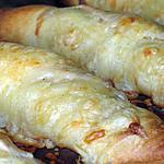 recette Roulé feuilleté au jambon et béchamel express