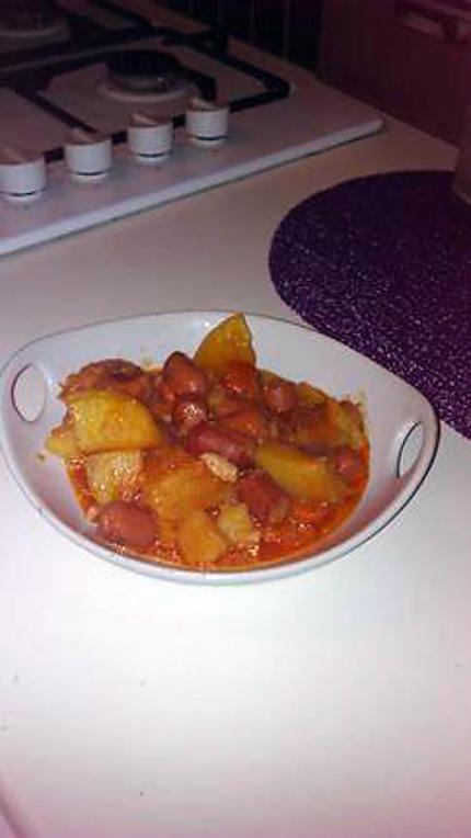 Fabuleux Recette de Ragout de pomme de terre aux saucisse de strasbourg JS71