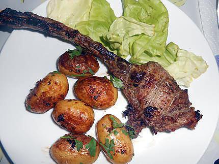 Pommes de terre au four citron et herbes 430