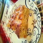 recette tarte au pommes poire raisins à la crème d'amande