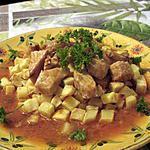 recette Sauté de porc salsa