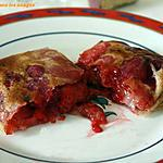 recette Brick aux fruits rouges
