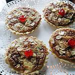recette Tartelettes Amandine