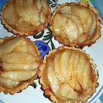 recette Tartelettes aux poires