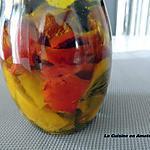 """recette Les poivrons marinés de """"Notre Amour de Cuisine"""" version n°2"""