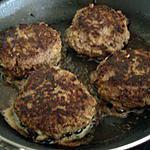 recette Mes steak hachés maison
