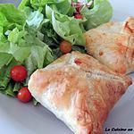 recette Feuilleté de poireaux et jambon cru