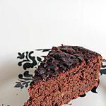 recette Gâteau au chocolat noir corsé sans beurre