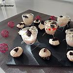 recette Mini coque en chocolat et mousse mascarpone