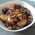 recette Lentilles épicées au safran