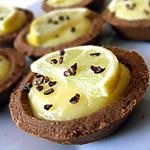 recette Mini tartelettes choco-citron