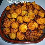 recette Pommes dauphines à la patate douce