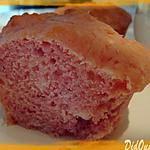 recette Petits cakes au coulis de framboise