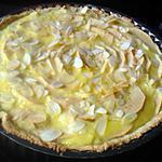 recette tarte aux pommes crème citron