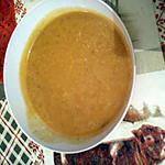 recette velouté de potiron et châtaignes