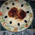 recette Nid de riz et ses paupiettes