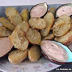recette Pommes de terre au four et crème de paprika de Jeanmerode.