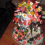 recette gateau bonbons,, anniversaire   norah