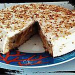 recette pumpkin cake pêches-amandes