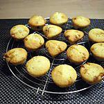 recette Muffins éclats de nougats et pépites de chocolat