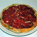recette Tatin poireaux/chorizo