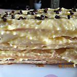 recette Dessert feuilleté rapide