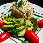 recette Avocat et surimi