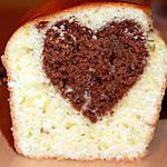 recette Gateau caché: cake au coeur chocolat