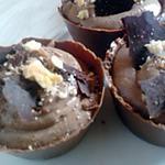 recette mignardise, corolle au chocolat au lait