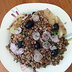 recette Salade de lentilles blondes