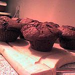 recette Muffins Cacao et Beurre de Cacahuètes