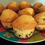 recette Muffins pepites de chocolat-noix de coco