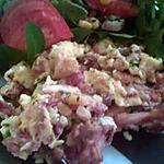 recette Brouillade de girolles-jambon