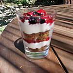 recette Mini verrines de tiramisu aux fruits rouges & spéculoos
