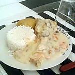 recette Blanquette de dinde-girolles de Jeanmerode